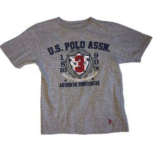 U.S. Polo Assn Grey T-shirt